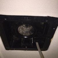 トイレ換気扇交換工事