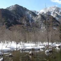 上高地ー2017冬③