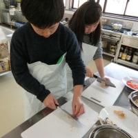 魚介類調理の体験