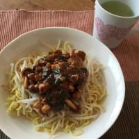 11月6日 昼ご飯…ジャージャー麺風中華そば