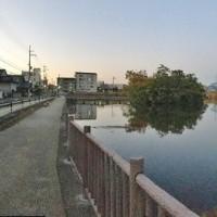 旧東海道ランニング「東海道走膝痛シ」・・・草津宿~京都三条大橋、その1(瀬戸唐橋)