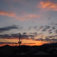 朝の空・・・2/8・2/13