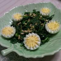 のらぼう菜のレモンソテー(レシピ)