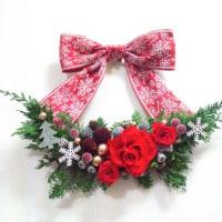 『クリスマスの壁飾り』