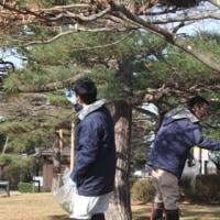 鶴ヶ城 雪吊り