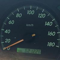 普通車 走行距離 62万キロオーバー (元タクシーだけど)