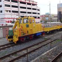南海電鉄工務部車両 砂利運搬車両