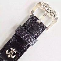 クロムハーツ純銀製の時計