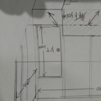 作品展示室兼納戸を作ります。