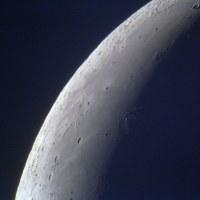 月面北西部拡大