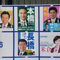 東京都議会議員選挙がスタート