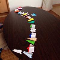 紙飛行機の分類。