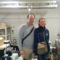 ドイツから、アルバート・ルーカス博士夫妻が、研究室見学 に訪れられました。