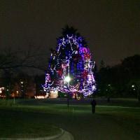 美しが丘公園のクリスマスツリー
