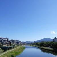 MARUKA na 京都 鴨川 爽やかな朝ですね。