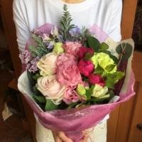 お誕生日のお花束
