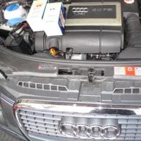 Audi A3/8P 2,0TFSIオイル交換メンテです。
