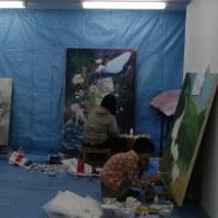 本日最終日!中美生展!漫画家内田先生がガイドします!
