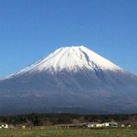 2016年12月31日の富士山