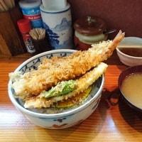 ご報告の続き…桜木町・あぶら屋 で 大海老天丼