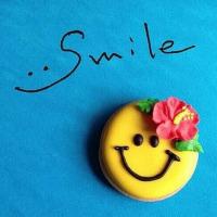 SMILE。