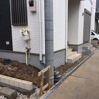 辻8丁目外構工事