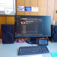 FOSTEX PC200USB-HR + YAMAHA NS-BP200