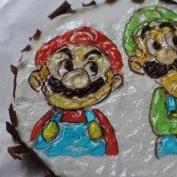 メロンカップケーキ