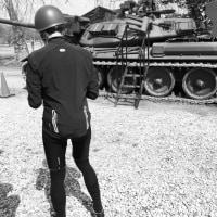 自衛隊祭り観覧へ片道自走