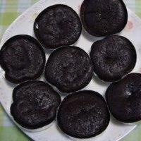 今日のおやつ 「手作り焼きチョコセット」で作った焼きチョコ!
