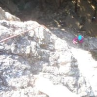 今年最初の岩トレを日和田でしました。SS木さんも本格的にリードトレーニング始動!
