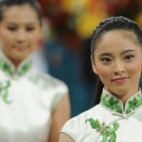 北京オリンピックの美女達