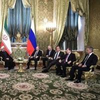 イラン大統領モスクワ訪問と内陸交易路の拡充