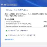 Windows update �������ʤ�