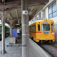 阪堺電軌 住吉公園 (2013.5.4) モ172と都電旧塗装モ502の並び