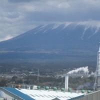 富士山が美しかった