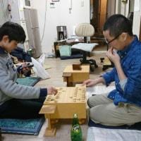 3月25日弟子の宮嶋の指した将棋を調べる。