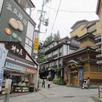 長野県 野沢温泉に日帰りで行ってきました。 麻釜で温泉たまご作ったり食べたり。