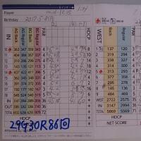 今日のゴルフ挑戦記(110)/東名厚木CC イン(B)→ウエスト