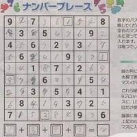 数字パズル解答