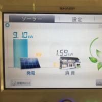 太陽光発電パネル「SHARP  NU-215AE」9.10kw  #3