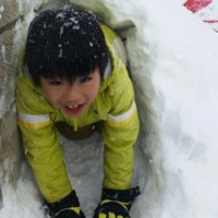 雪の日の楽しみ⛄。