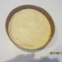 16cmデコ型 りんごのピューレのケーキ