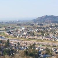 4/29角館・古城山からの風景