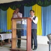 パラダイス孤児院で礼拝説教