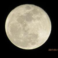 今夜の月は、大分 欠けてきました。