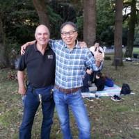 明治神宮の古武道大会でオーストラリア人の旧友と再会した