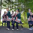 白老白翔中1年生、古式舞踊など体験 ・アイヌ民博で伝統文化学ぶ