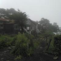 霧の中で涼しかった丹沢