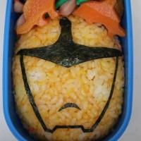 キャラ弁(いろんなキュウレンジャー弁当)を作りました ☆